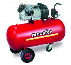COMP 100L 3HP COAX V MECAFER