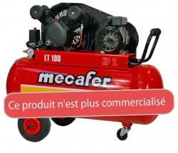 COMPRESSEUR 100L 2HP V FONTE MECAFER