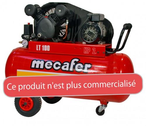 Compresseur vertical MECAFER 100L 2.5 HP  CASTORAMA