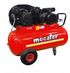 COMPRESSEUR 100L 3HP V FONTE MECAFER