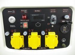 GROUPE ELECTROGENE MF6600E GAMME HD